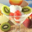 Fruit sundae — Stock Photo