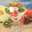 Fruit sundae — Stock Photo #3543368
