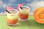 Melon Smoothie — Stock Photo
