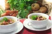 Green bean stew — Stock Photo