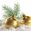 Christmas balls — Stock Photo #3923049