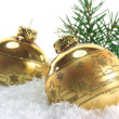 Christmas balls — Stock Photo #3923082