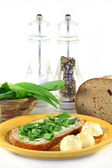 Wild Garlic Bread — Foto Stock