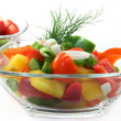 Bell pepper salad — Stock Photo