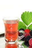 Forest fruit tea — Stock Photo