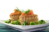 Salmon pate — Stock Photo