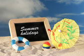 Summerholiday — Stock Photo