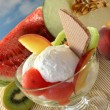 Fruit sundae — Stock Photo #3524893
