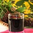 Elderberry juice — Stock Photo