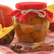 Pumpkin compote — Stock Photo