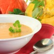 Pumpkin cream soup — Stock Photo #3794693