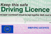 Driving Licence — Stock Photo