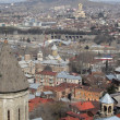 Stock Photo: Domes of old Tbilisi