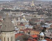Domes of old Tbilisi — Stock Photo