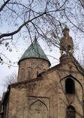 Ancient armenian church — Stock Photo