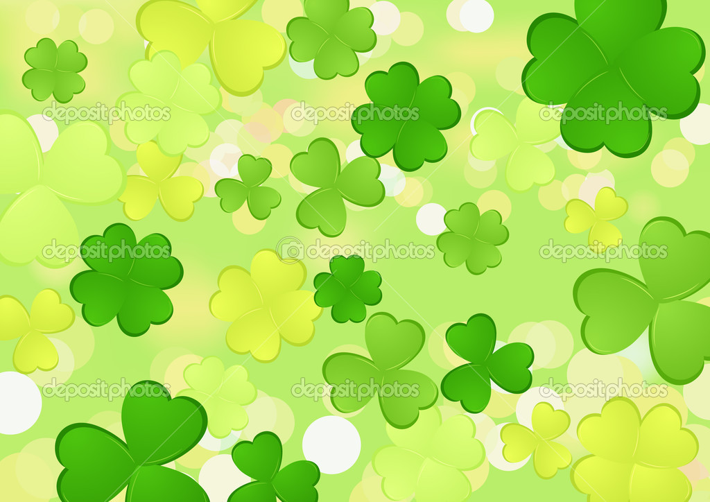 Clover, vector illustration — Image vectorielle #2814124