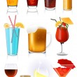 Drink collection — Vector de stock #2953205