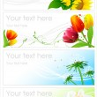 Flower backgrounds — Stock Vector #2953207