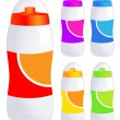 Bicycle bottle — Stock Vector