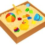Sandbox — Stock Vector