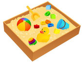 Sandbox — Stock Vector