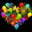 Royalty-Free Stock Vectorafbeeldingen: Holiday heart