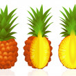 Постер, плакат: Pineapples