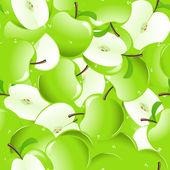 Apple background — Stock Vector