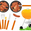Barbeque - Stock Vector