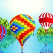 Air balloons - Stock Vector