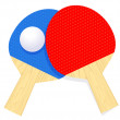 Ping pong — Stock Vector