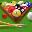 Billiard — Image vectorielle