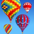 Balloons_in_the_sky — Image vectorielle