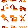 Building icons — Stock Vector