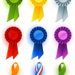 Award ribbon — Stock Vector