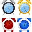 Reloj despertador — Vector de stock  #3748692