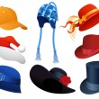 Royalty-Free Stock Imagen vectorial: Hats