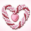 Royalty-Free Stock Imagem Vetorial: Heart balloons