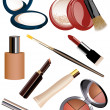 Makeup objects — Stock Vector #3748910