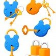 Lock — Stock Vector