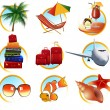 Holiday objects - Stock Vector