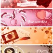 Love_cards — Vector de stock  #3748978