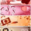 Love_frames — ストックベクタ