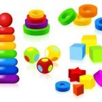 Toys — Stock Vector