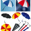 Umbrellas — Stock Vector #3749094