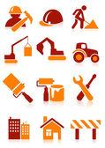 ícones de construção — Vetorial Stock