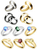 Ring_collection — Vector de stock