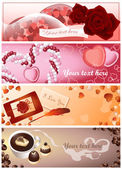 Love_cards — Stock Vector