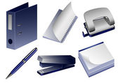 Stationery_objects — Vector de stock