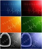Cardiogram — Stock Vector